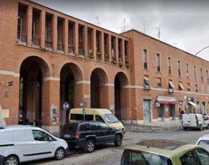 Piazza Damiano Sauli oggi, nel marzo 1980 fu teatro della lite tra Fabiani e Marcello Colafigli